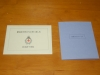 献血10回記念と作者プロフィールの紙