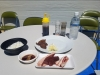 エゾシカ肉とライスとタレ