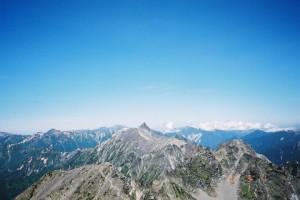 北アルプス主脈全山縦走(イメージ)